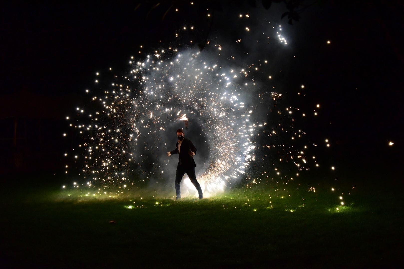 Sparkle Poi - Vuurshow