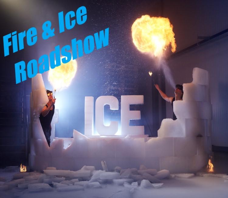 Vuurshow - Choreografie - Fire & Ice Roadshow - cursus vuurspuwen