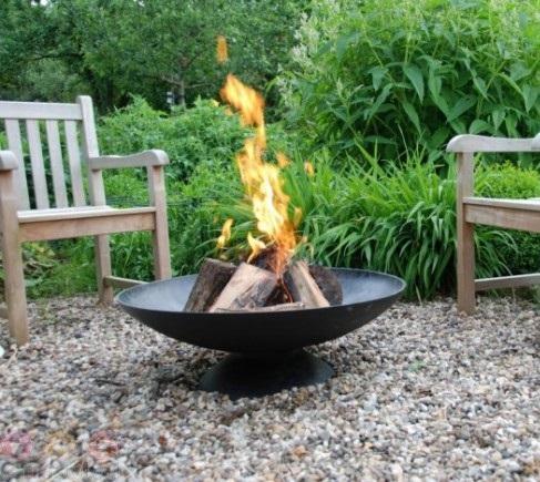 Brandende vuurschaal huren