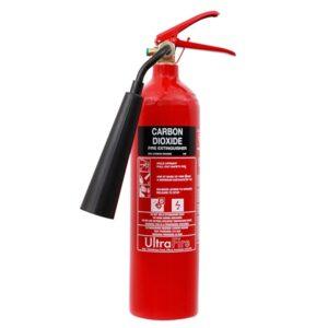 Brandblusser voor het vuurspuwen